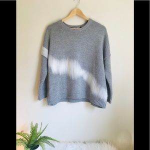 Anthropology Oversized Elk Sweater Small